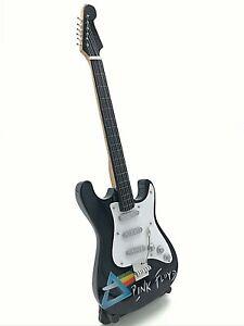 Miniature Fender Standard  Stratocaster Guitar - Pink Floyd (Ornamental)