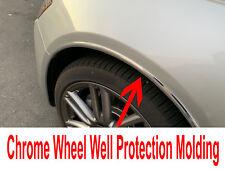 2012-2019 Alfa Romeo 4pc Chrome Wheel Well Fender Trim Molding Kit/5YR WRNTY