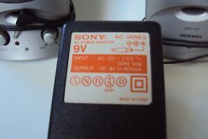 Sony AC-96NES Netzteil - 9V 600mA - mit SRS-A47 Sony Lautsprecher Set