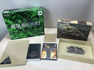 METAL GEAR SOLID 3 Snake Eater Premium Package PlayStaion2 PS2 KONAMI JP Import