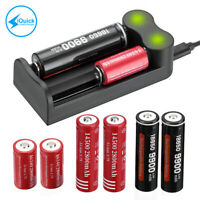 Smart Charger For 3.7-Volt Li-ion 18650 18350 18500 20700 16340 14500 Batteries