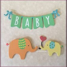 BABY BANNER METAL MAGNETS SET OF 3 BY EMBELLISH YOUR STORY FREE SHIPPING