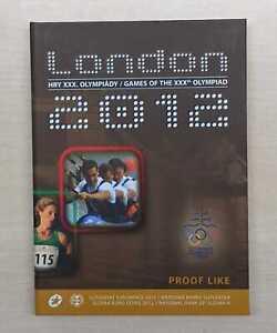 Slowakei  Euro-KMS 2012 Olympische Sommerspiele London 2012 PP  Nur 6.000 Stück!