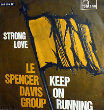 """7"""" THE SPENCER DAVIS GROUP BEAT I° RECORD IN ITALY 1966 -STRONG LOVE"""