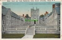 Postcard Baker Court + Tower Residential Halls Cornell University Ithaca NY 192
