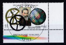BRD 2003 gestempelt ESST Berlin Eckrand unten rechts MiNr. 2332 Deutsches Museum