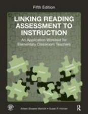 Linking Reading Assessment to Instruction : An Application Worktext for...