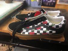 Vans Old Skool (Cherry Checker) Black/Gum Size US 6.5 Men VN0A38G1QTL