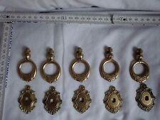 Beschlag Messing Antik Stil Türbeschlag Truhe Schub Fittings Brass Antique style