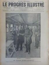 1904 Krieg Russo-Japanischen Amiral Makharoff Commendant Lakowleff Petropavlovsk
