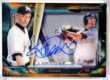 Ichiro Suzuki 2015 Topps Strata Jumbo Patch Jersey Relic Autograph #/25 Auto