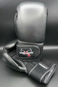 "Century Kickboxing 12 oz Med. Boxing/Sparring Gloves ""Ilovekickboxing.com"" NWOB"