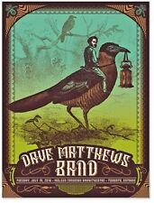 2016 DAVE MATTHEWS BAND TORONTO BIRD JOCKEY CONCERT POSTER 7/19 #/50 AE BONUS ON