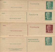 DDR 1956 Postkarten P 68 (2) - P 70 I ungebraucht sehr gut erhalten (B07845b)