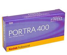 5 Rolls x KODAK Professional 120 PORTRA ISO 400 Color Negative Film  - EXP.2018