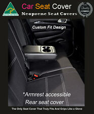 Seat Cover Toyota RAV4 Rear With Armrest Access Waterproof Premium Neoprene