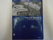 2014 HARLEY HD POLICE FLHT Parts Catalog Manual NEW Book
