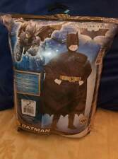 Batman costume teenager age 8 to 10 size 12-14 ship out fast halloween new dc m