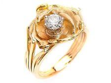 Reinheit VVS Echtschmuck aus Gelbgold mit Diamant für Damen