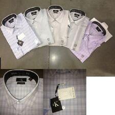Calvin Klein men's l/s non iron button front shirts 24pcs. [CK-LS-24]