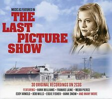 MUSIC FEATURED IN THE LAST PICTURE SHOW - 2 CD BOX SET - HANK WILLIAMS & MORE