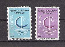 Turkey 1966 Europa CEPT Sailing Ship Set MNH (SC# 1718-1719)