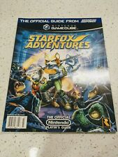 Star Fox Adventures Official Player's Guide Nintendo Power GameCube NEW