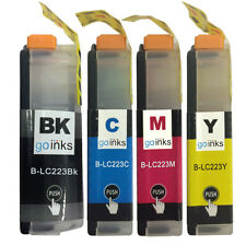 4 Ink Cartridges (Set) for Brother DCP-J4120DW MFC-J4625DW MFC-J5625DW