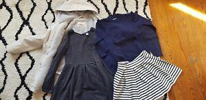 Lot vêtements fille 8 ans