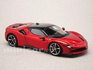 FERRARI SF90 STRADALE rouge, voiture miniature 1/43e LOOKSMART LS504K
