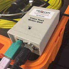 Video Text Writer Unit for Sewer and Drain Inspection Camera System