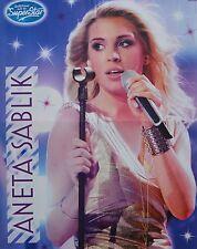 ANETA SABLIK - A2 Poster (XL - 42 x 55 cm) - DSDS Clippings Fan Sammlung NEU