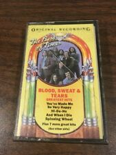 Blood Sweat And Tears - Greatest Hits - Cassette Tape - 1972 CBS Records