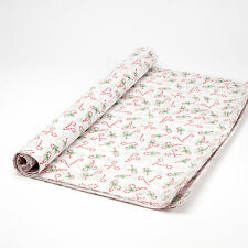 Candy Cane Christmas Gift wrap Tissue Paper x 48 Sheets