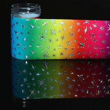 Nagelfolie Nail Art Star Starry Nagelsticker Gradient Nail Foils Maniküre DIY