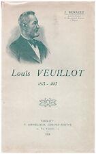 RENAULT Jules - LOUIS VEUILLOT 1813-1883 - 1928