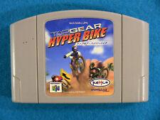 Top Gear Hyper Bike (Nintendo 64 N64, 2000) Japan Import