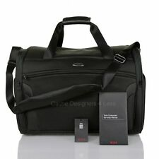 """New Tumi T3 Factor Carry -On Duffle 20.75"""" Black Traveler Luggage 6521D"""