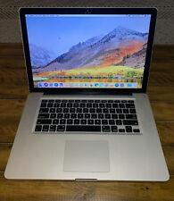 Apple MacBook Pro 15-inch (Early 2011) 2.0 GHz i7 8GB RAM 500GB HDD