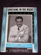 30's 1932 Buddy Rogers hit Something IN the Night sheet music