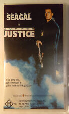 Out For Justice VHS 1991 Thriller John Flynn Steven Seagal 1994 WB Small Case