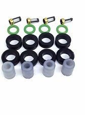 FUEL INJECTOR REPAIR KIT O-RINGS FILTERS GROMMET PINTEL CAP 94-97 ASPIRE 1.3L L4