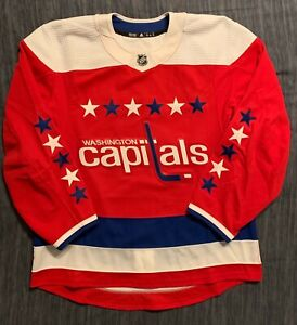 Washington Capitals Adidas Alternate Hockey Jersey - Size 54 Made In Canada MIC