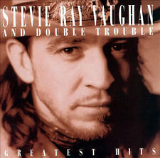 """""""STEVIE RAY VAUGHAN and DOUBLE TROUBLE"""" Rock, Blues Greatest Hits CD"""