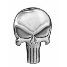 Marvel Comics The Punisher Skull Logo Image Metal Silver Toned Pewter Lapel Pin