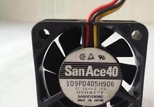 1 X 109P0405H906 REPLACE 109P0405H901 SANYO AXIAL FAN 40X10MM 5VDC 160MA