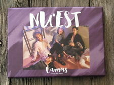 NUEST NU'EST Autographed 2016 mini 5th album CANVAS CD + postcards  korean ver