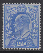 SG 230  2 1/2d  Deep Ultramarine M16 (1) in Post Office fresh unmounted mint .