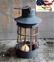 1/6 vampire LED Metal Oil Lamp Barn Lantern Caribbean pirates for hot toys ❶USA❶