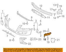 AUDI OEM 06-13 A3 Rear Bumper-Guide Left 8P4807393A